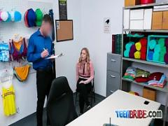 Genial hub video category teen (361 sec). Tender blondie gets captured on shoplifting crime.