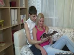 Cool erotic category First Anal Date (180) sec. Anally rewarded for p(Sveta).