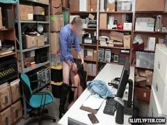 XXX pornography category cumshot (480 sec). Teens big tits bouncing as she pumps her tight pussy on top of the LP Officer throbbing rod!.