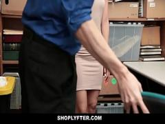 Adult stream video category cumshot (761 sec). Shoplyfter - Stripped And Fucked For Stealing.
