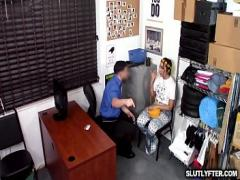 Adult video link category teen (480 sec). Pervy officer choking Lilly Halls neck while he slams her tight pussy.