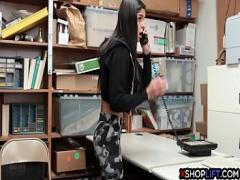 Nice hub video category teen (360 sec). Latina skinny teen paid with her pussy for shoplifting.