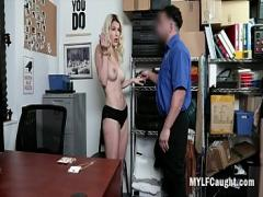 Embed hub video category big_tits (493 sec). Blonde MILF Gets Fucked For Stealing- Kit Mercer.