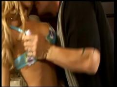Free hub video category cumshot (802 sec). Sexy nice boobs blonde slut Katie Morgan in bed sucking and fucking hot dick.