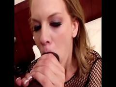 Download pornography category anal (1132 sec). Charmming dark blonde busty babe in black fishnet outfit Bailey Bliss was so impressed with royal size of her new ebony ....