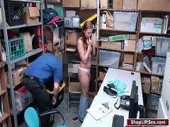 Watch sexual video category sexy (430 sec). LP officer fucks sexy czech shoplifter.