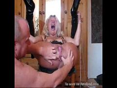Embed tube video category bdsm (300 sec). Slut tied up and gets bunghole stuffed.