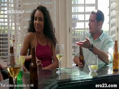Sexy amorous video category exotic (368 sec). Demi Sutra having orgasms on a white dick.