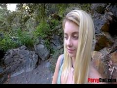 Adult sensual video category teen (489 sec). Daughter fucks dad in a camp! WTF!.