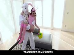 Embed romantic video category cumshot (619 sec). ExxxtraSmall - Hot Easter Bunny Takes A Huge Bunny Cock.