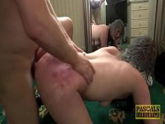 Adult hub video category anal (619 sec). Brit petite subslut dommed and fed with cum by big fat cock.