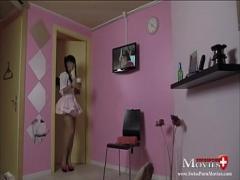 Play sensual video category cumshot (468 sec). Amanda Jane beim Oktober-Blowjob im Dirndel - SPM Amanda23TR96.