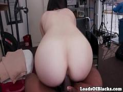 Super pornography category sexy (300 sec). Fingered amateur babe bouncing on black dick.