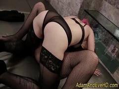 Genial seductive video category stockings (600 sec). Stockings les strapon.
