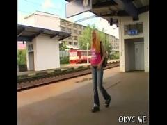 Cool video category teen (307 sec). Beef bayonet riding by luscious Vera.