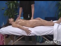 Watch videotape recording category teen (300 sec). Sex during massage.