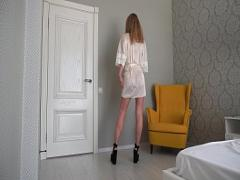 Genial video list category milf (388 sec). Look at me and jerk off at me. Eye contact of a hot Russian Milf.